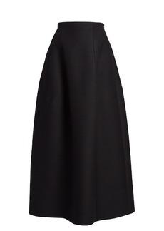 The Row Batley double-faced maxi skirt