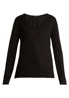 The Row Baxerton long-sleeved T-shirt