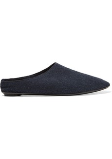 The Row Bea cashmere slippers