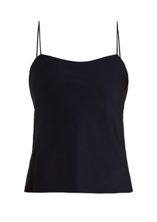 The Row Biggins silk-blend georgette cami top