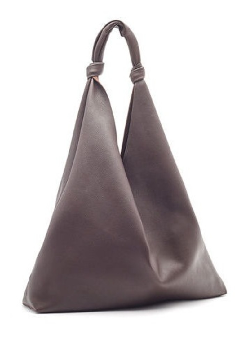 THE ROW Bindle Two Bag in Fine Grain Leather