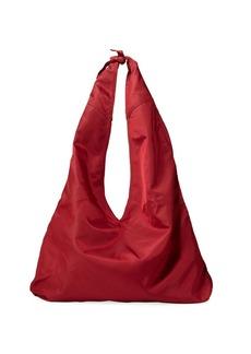 THE ROW Bindle Knot Nylon Hobo Bag