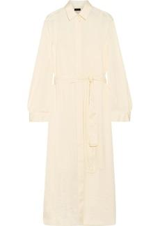 The Row Camisea charmeuse shirt dress