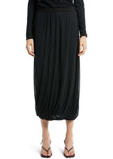 The Row Carcano Cotton Midi Skirt
