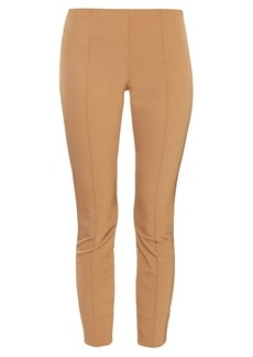 The Row Caro slit-cuff stretch-twill trousers