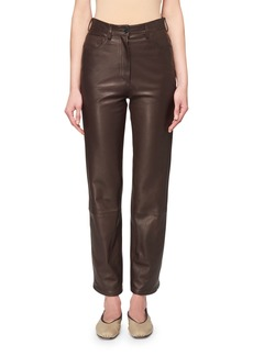 THE ROW Charlee Leather Jeans