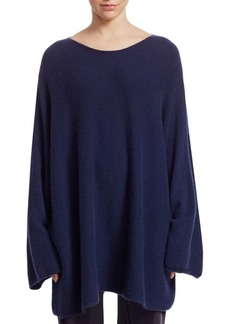 The Row Clyde Cashmere Silk Top