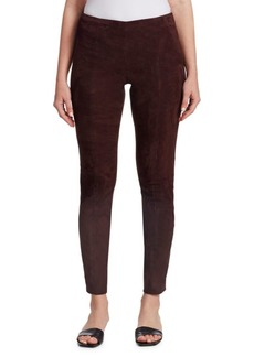 The Row Cosso Suede Pants
