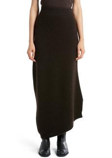The Row Cymone Long Cashmere Skirt