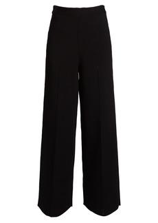 The Row Dariah wide-leg knit trousers