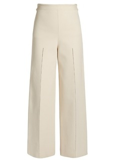 The Row Dariah wide-leg knit trousers