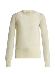 The Row Denni wool and cashmere-blend sweater
