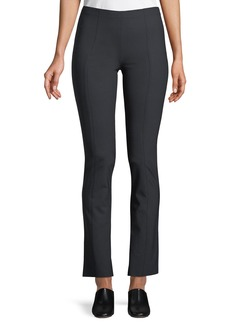 The Row Doco Fitted Straight-Leg Stretch-Wool Pants