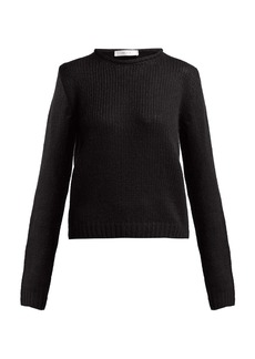 The Row Droi waffle-knit cashmere-blend sweater