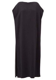 The Row Dunika boat-neck cady maxi dress