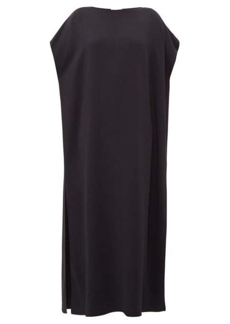 The Row Dunika boat-neck cady maxi dress