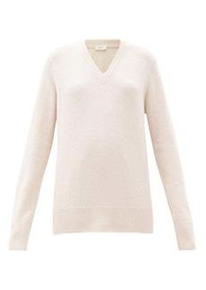 The Row Elaine V-neck wool-blend sweater