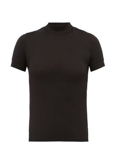 The Row Elan high-neck jersey T-shirt
