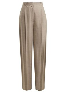 The Row Elin wool-blend trousers