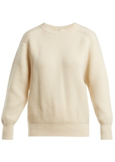 The Row Evanley ribbed cashmere sweater