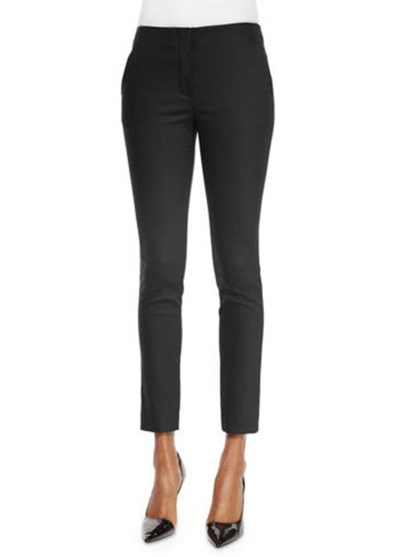 THE ROW Flat-Front Skinny Pants