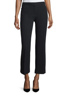 THE ROW Floc Mid-Rise Straight Cropped Pants