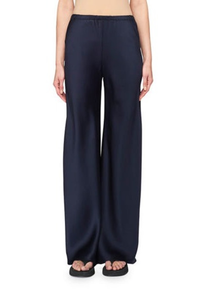THE ROW Gala Straight-Leg Pants