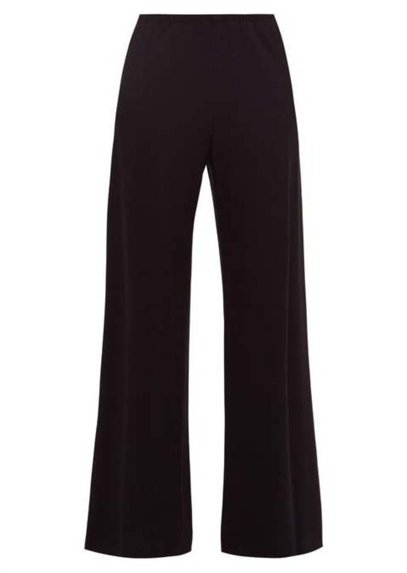 The Row Gala stretch-crépe trousers