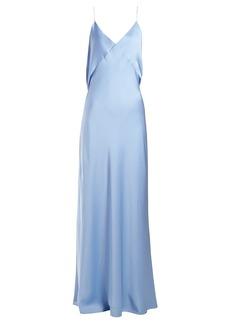 The Row Gran silk gown