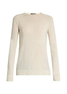 The Row Heba wool and cashmere-blend sweater