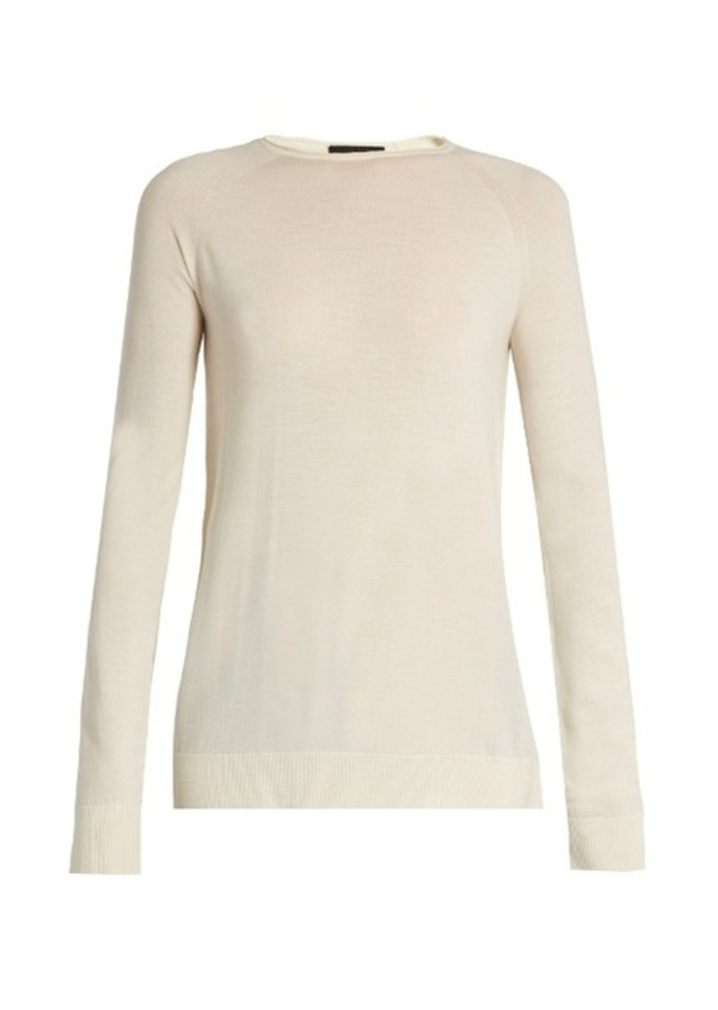 The Row The Row Heba wool and cashmere-blend sweater | Sweaters ...