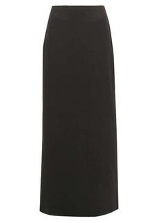 The Row Hena twill maxi skirt