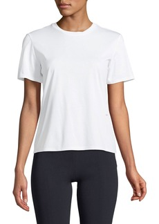 THE ROW Hope Crewneck Short-Sleeve Cotton Jersey Tee