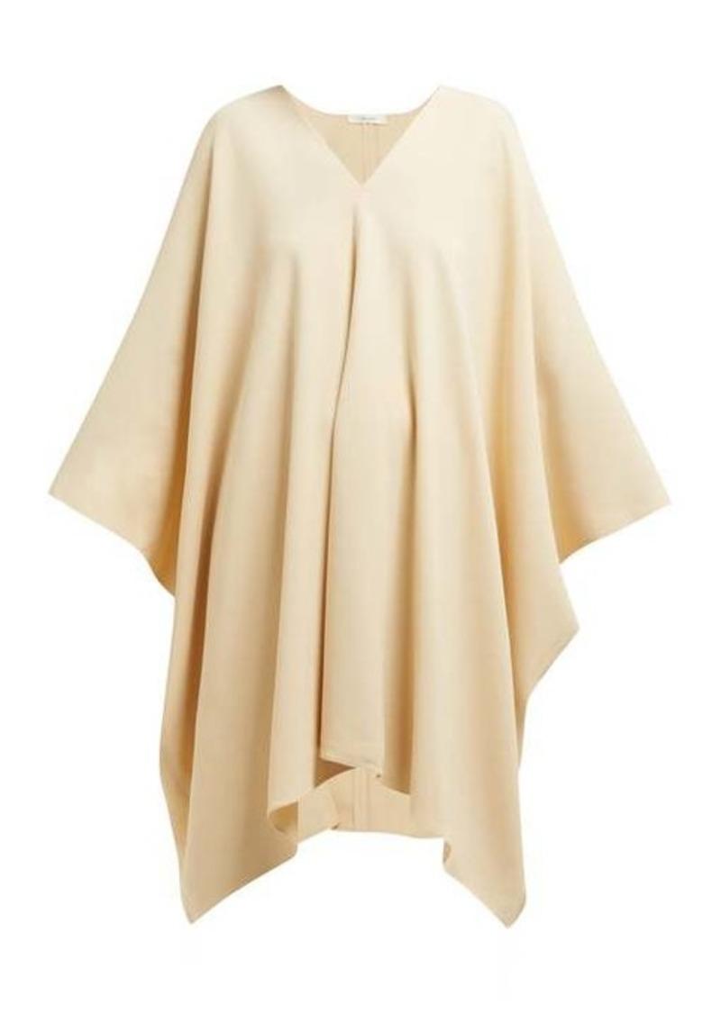 The Row Iona stretch-crepe kaftan dress