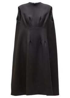 The Row Isandra wool-blend cocoon dress