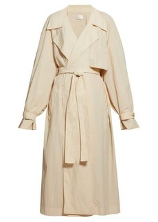 The Row Kareem oversized trench coat