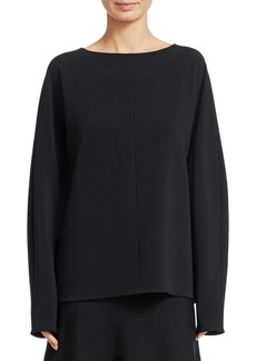 The Row Kimo Long Sleeve Top