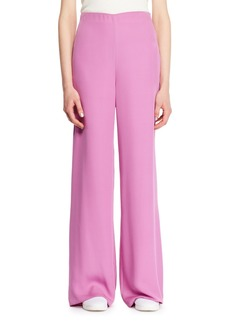 The Row Kiola Wide-Leg Silk Pants