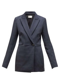 The Row Koja single-breasted scuba blazer