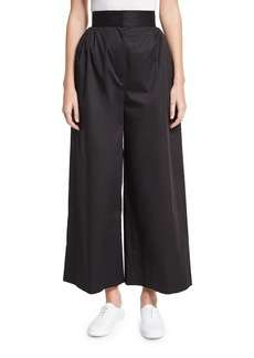 THE ROW Lado High-Waist Wide-Leg Pants