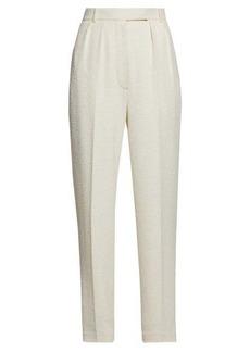 The Row Landeli bouclé wide-leg trousers