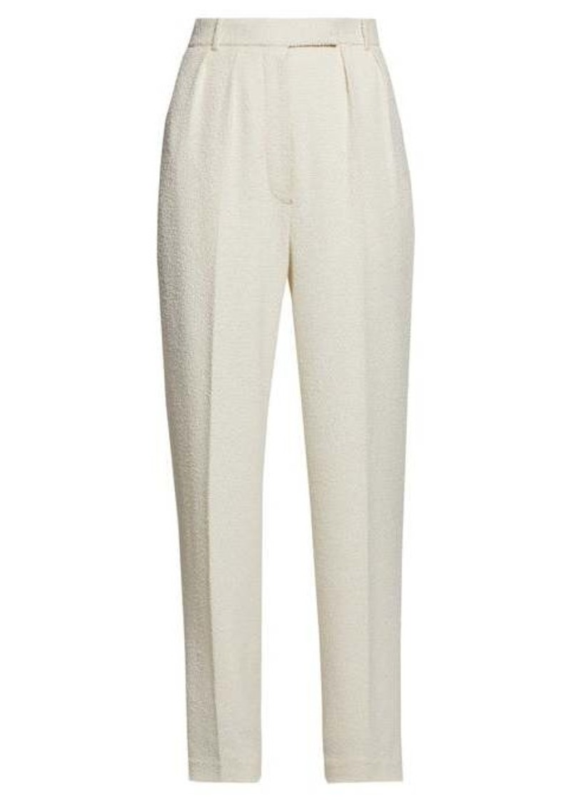 The Row Landeli bouclé wide-leg trousers