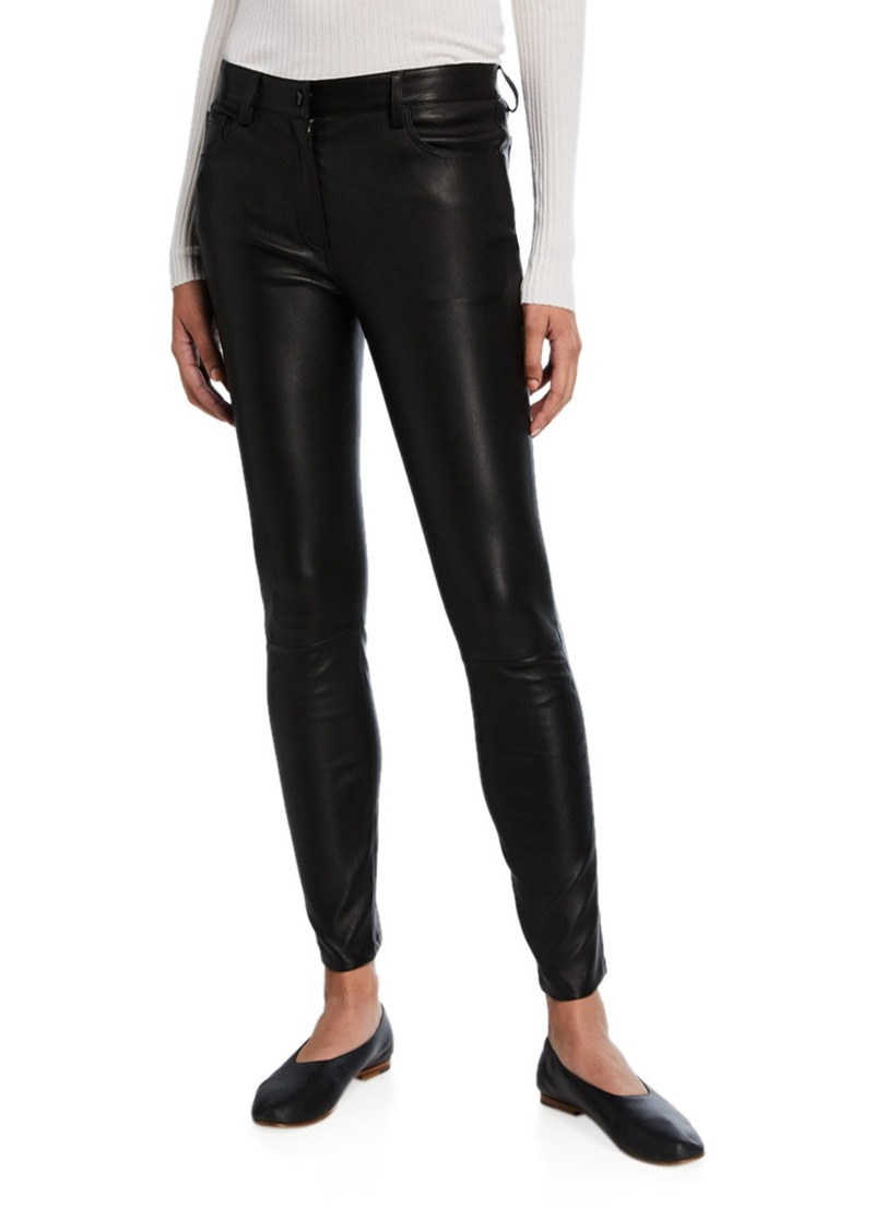 THE ROW Landly Leather Pants