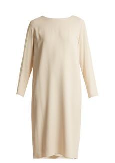 The Row Larina crepe tunic dress