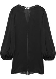 The Row Latou open-back silk crepe de chine blouse