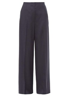 The Row Lianno high-rise wide-leg wool trousers