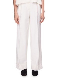 THE ROW Liano Pleated Wide-Leg Pants