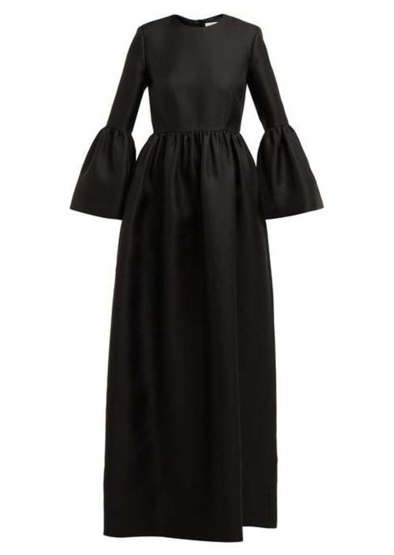 The Row Lora silk-twill gown