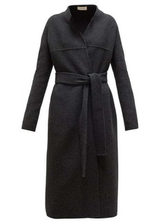 The Row Luisa belted wool-blend coat