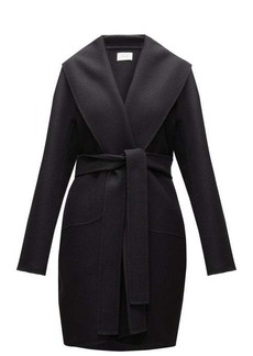 The Row Maddy belted wool-blend felt coat